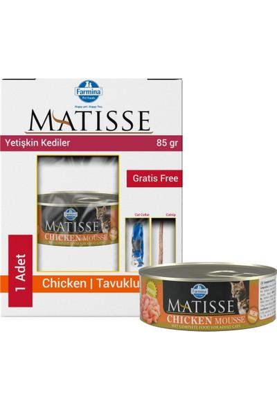 Matisse Mousse Chicken Tavuklu Kedi Konservesi 85 gr