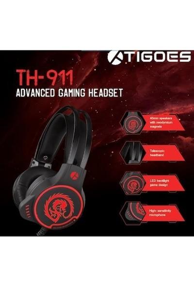 Tigoes TH-911 7.1 USB Oyuncu Kulaklık