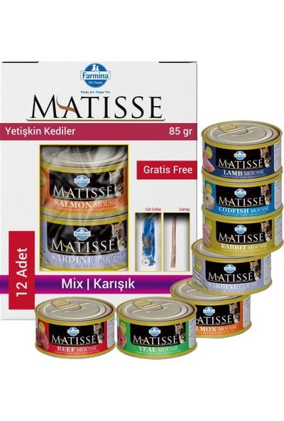 Matisse Mousse Karışık Kedi Konservesi 12X85 gr