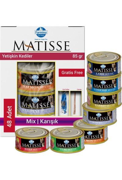 Matisse Mousse Karışık Kedi Konservesi 48X85 gr