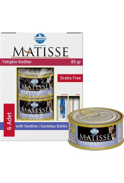 Matisse Mousse Sardine Sardalya Kedi Konservesi 6X85 gr