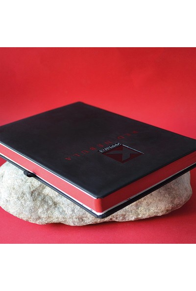Kagito K-Journal Red Nebula Noktalı Defter
