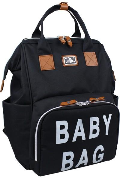 Stylo Bag Baskılı Anne Bebek Bakım Sırt Çantası