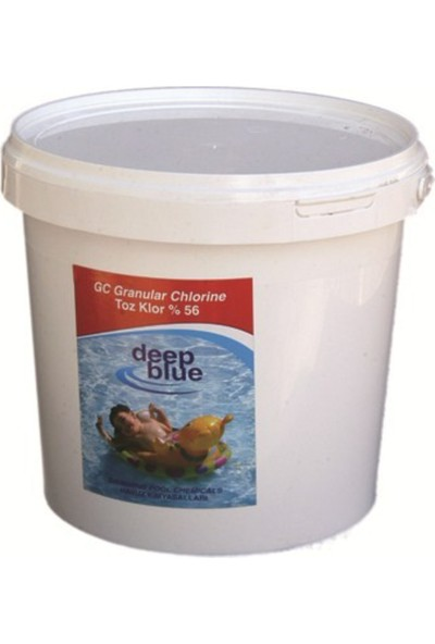 Deepblue Deep Blue Dıchlor Toz Klor % 56 10 Kg.