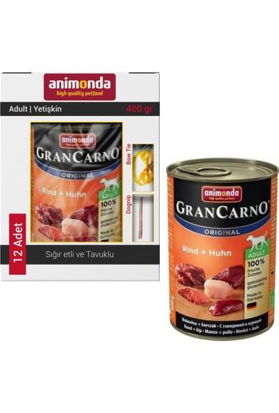 Animonda Grancarno Sığır Et ve Tavuk Köpek Konservesi 12X400 gr