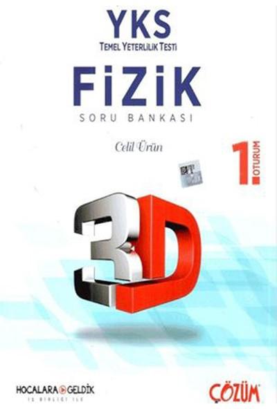 Çözüm YKS 1. Oturum TYT Fizik 3D Soru Bankası Çözüm Yayınları