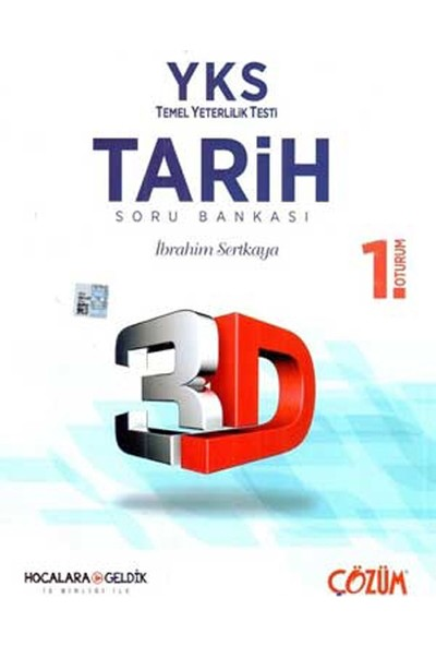 YKS TYT 1. Oturum 3D Tarih Soru Bankası Hocalara Geldik Iş Birliği Ile Ile Çözüm Yayınları