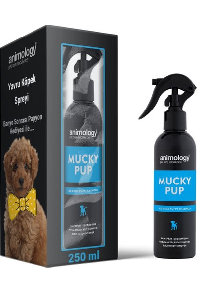 Animology Mucky Pup Yavru Köpek Krem Spreyi 250 ml
