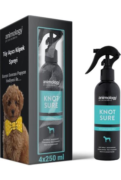 Animology Knot Sure Tüy Açıcı Köpek Spreyi 4X250 ml