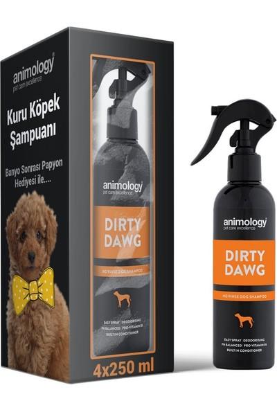 Animology Dirty Dawg Köpek Kuru Şampuanı 4X250 ml