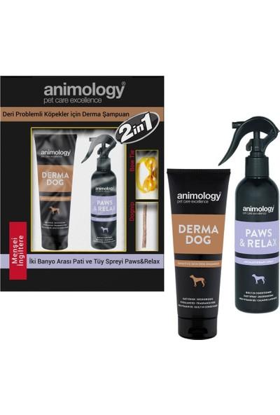 Animology Derma Hassas Cilt Alerji Köpek Şampuan ve Sprey 250 ml