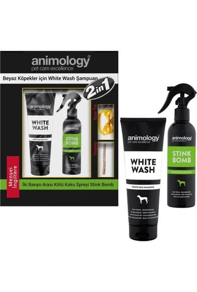 Animology White Wash Beyaz Tüylü Köpek Şampuan ve Sprey 250 ml