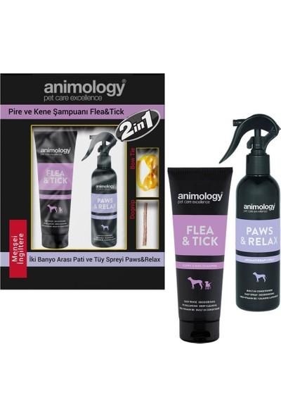 Animology Flea&tick Kene ve Pire Köpek Şampuan ve Spreyi 250 ml