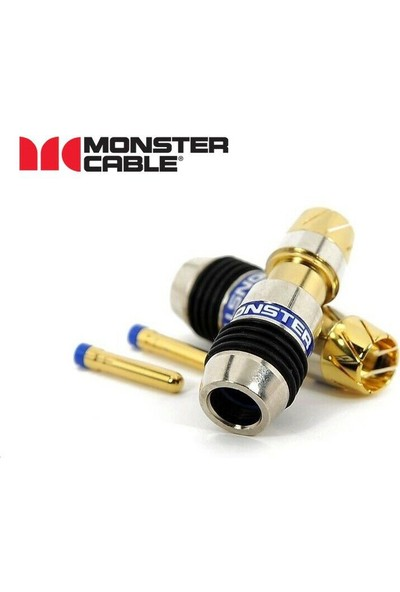 Monster Cable Quicklock Rcaconnector Ql-Rg6 Rg-10