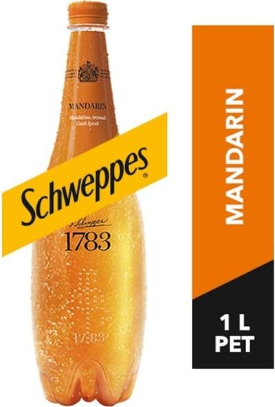 Schweppes Mandalina Aromalı Gazlı Içecek Pet 1l x 6