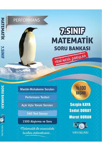 İdol Yayınları 7. Sınıf Performans Etkinlikli Matematik Soru Bankası