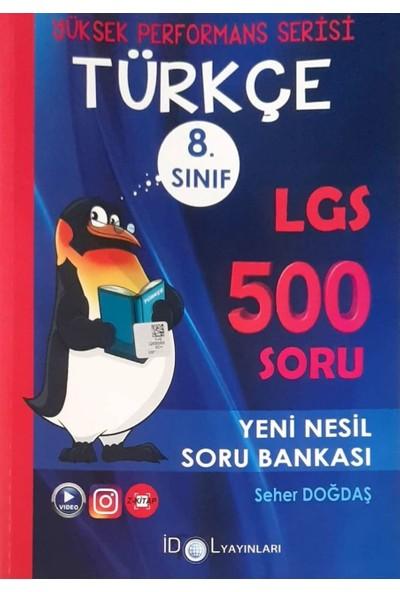 İdol Yayınları 8. Sınıf Yüksek Performans Türkçe Soru Bankası