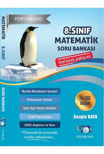 İdol Yayınları 8. Sınıf Performans Etkinlikli Matematik Soru Bankası