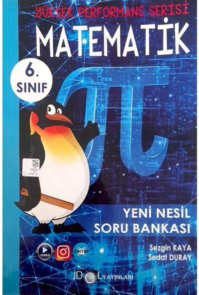 İdol Yayınları 6. Sınıf Yüksek Performans Matematik Soru Bankası