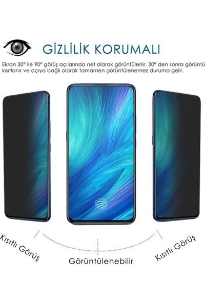 Volente Oppo Reno 2z 5D Privacy Hayalet Ekran Koruyucu