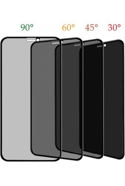 Volente Oppo A5 2020 5D Privacy Hayalet Ekran Koruyucu