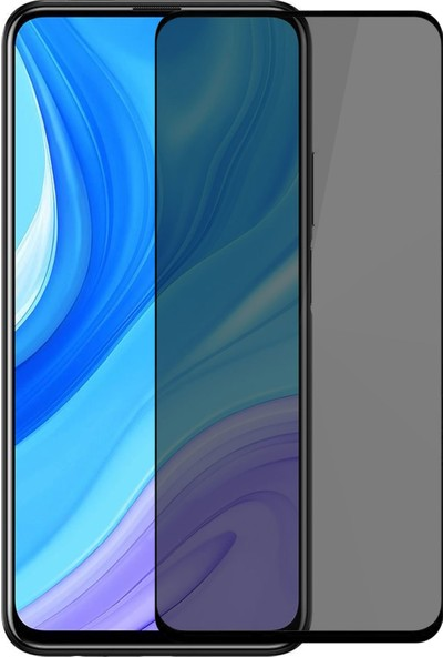 Volente Huawei P Smart Pro 5D Privacy Hayalet Ekran Koruyucu