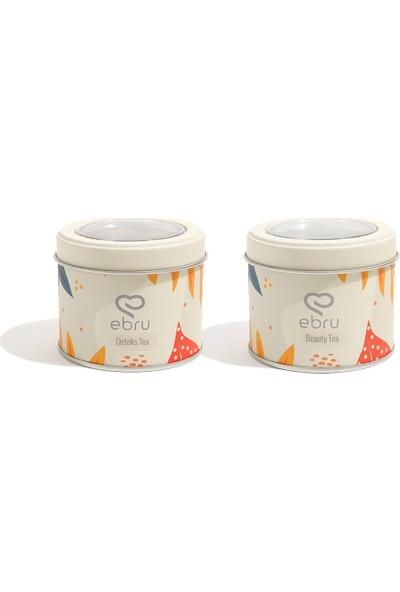 Chado Ebru Şallı Detoks Tea & Beauty Tea Set