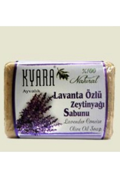 Kyara Lavanta Özlü Zeytın Yağı Sabunu %100 Doğal
