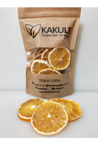 Kakule Portakal Kurusu Cips 100GR