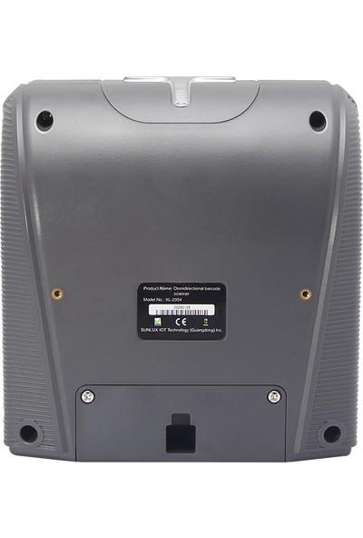 Sunlux XL-2054 USB 1d Çokyönlü Barkod Okuyucu