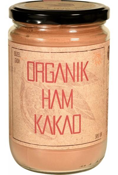 Güzel Gıda Organik Ham Kakao Toz 320 gr x 3'lü