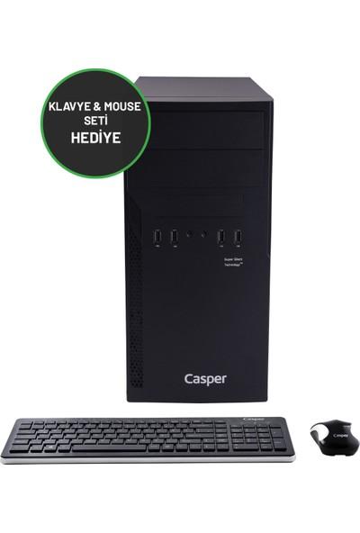 Casper Nirvana N2L.1050-4930R-236 Intel Core i5 10500 4GB 2TB + 2TB SSD GT710 Windows 10 Pro 23.6'' Masaüstü Bilgisayar