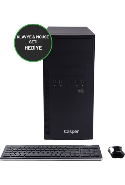 Casper Nirvana N2L.1070-DFH0A-236 Intel Core i7 10700 32GB 960GB SSD GTX1650Windows 10 Home 23.6'' Masaüstü Bilgisayar