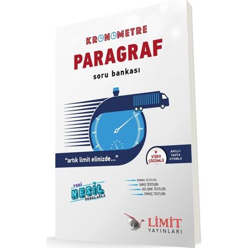 Limit Yayınları Yayınları Kronometre Paragraf Soru Bankası