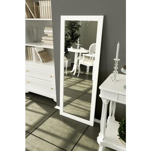 Lyn Home 56 x 150 cm Beyaz Çerçeveli Boy Aynası