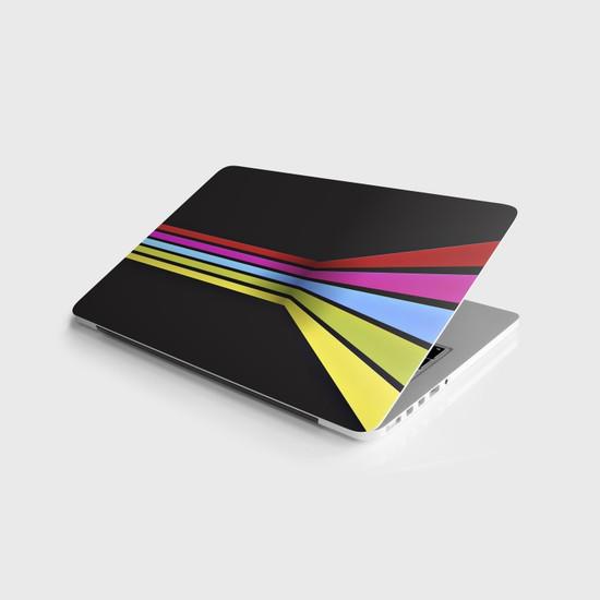 Jasmin Laptop Sticker Notebook Kaplama Etiketi Renkler