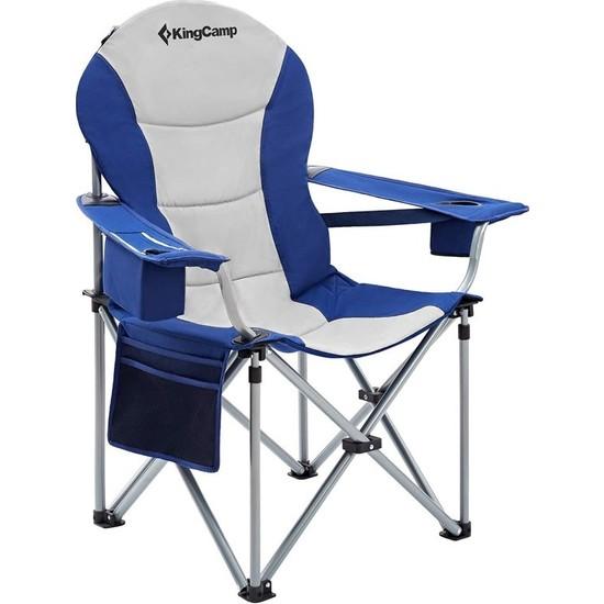 Kingcamp Deluxe Sandalye (Mavi/gri)