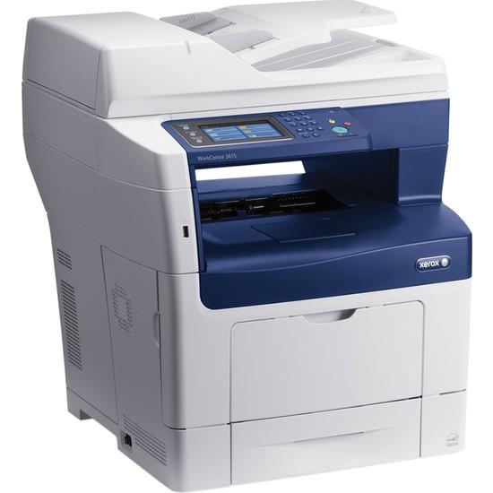 Xerox WorkCentre 3615DN Faks + Fotokopi + Tarayıcı + Laser Yazıcı