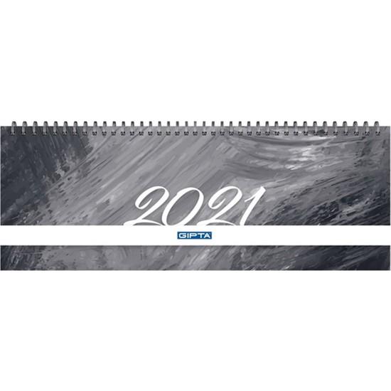 Gıpta 2021 Haftalık Masa Takvimi 12 x 33 cm