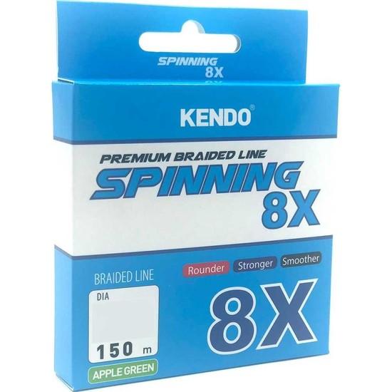 Kendo Spinning 8x Fighting ( Apple Green ) Örgü Ip Olta Misinası 150 mt