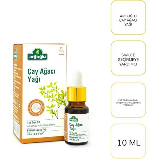 Arifoğlu Çay Ağacı Yağı 10 ml-Sivilce Geçirmeye Yardımcı Ürün