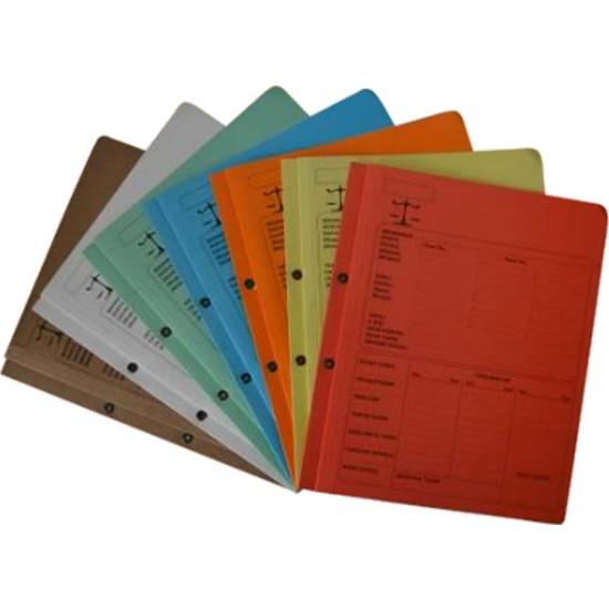 Ful Renkli Avukat Ofis Dosyası Tam Kapak 50 Adet