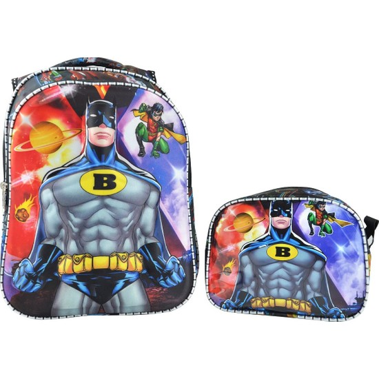 Zugazo Batman Okul Sırt Çantası