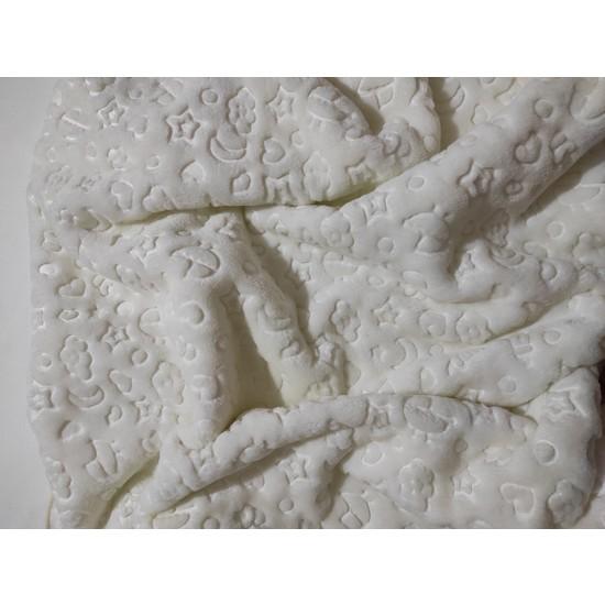 Star Baby Kutulu Bebek Battaniyesi Soft Kabartmalı Pamuk