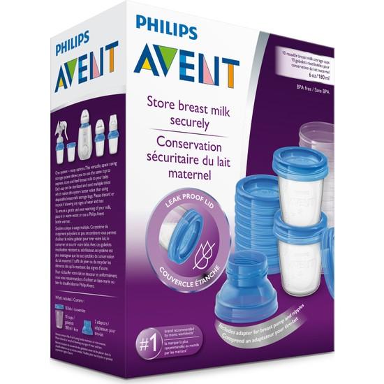 Philips Avent Anne Sütü Saklama Kapları 180 ml, SCF618/10