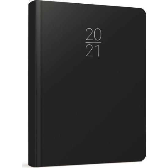 Gıpta 100-ECK 2021 Günlük Ajanda 14 x 20 cm Siyah