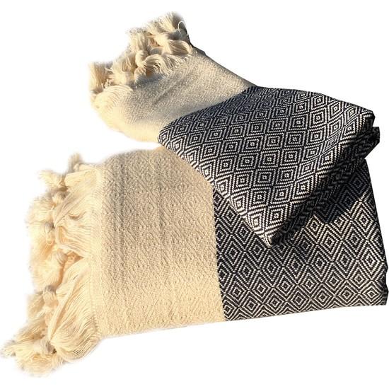 Yavuz Tekstil Pamuk Peştemal Set