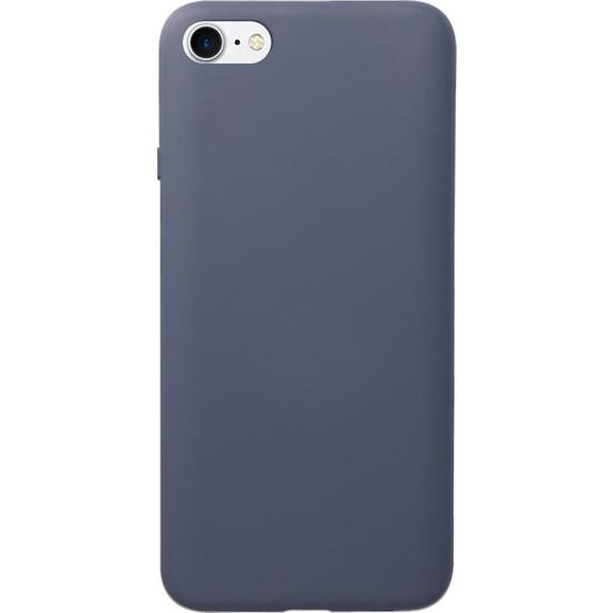 Fitcase iPhone 6 / 6s Kılıf Nano Lansman Silikon Arka Kapak Koyu Mavi