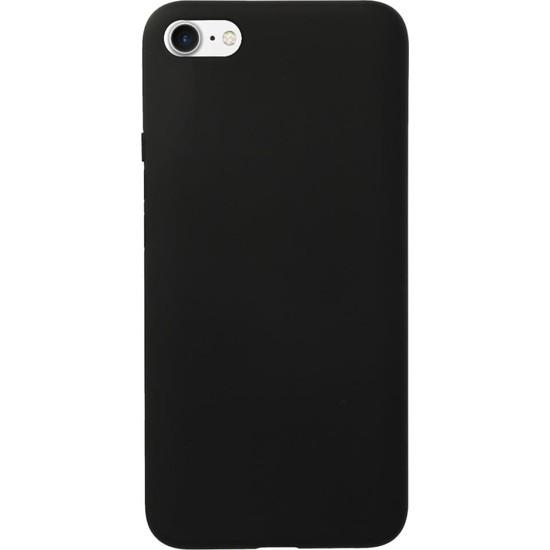 Fitcase iPhone 6 / 6s Kılıf Nano Lansman Silikon Arka Kapak Siyah