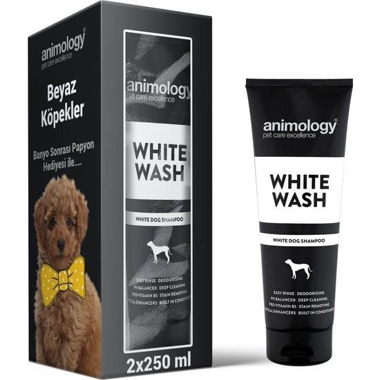 Animology White Wash Beyaz Tüylü Köpek Şampuanı 2X250 ml